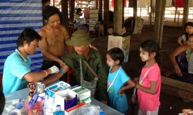 Malaria treatment centre in GMS region