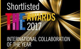 International Collaboration Award badge