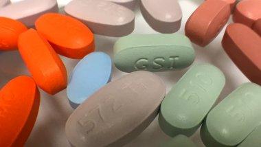 Médicaments antirétroviraux pour traiter l'infection par le VIH. Credit NIAID
