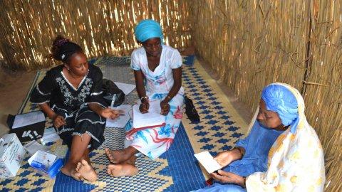 African malaria community