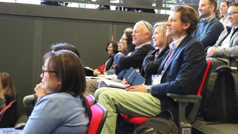 Delegates at MQPH 2018
