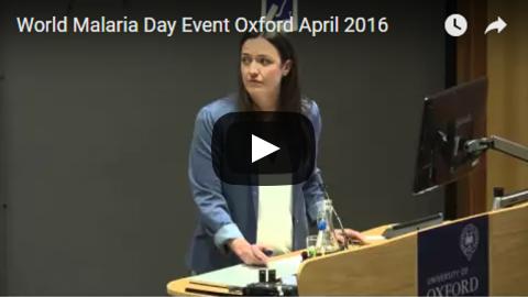 World Malaria Day April 2016 Oxford